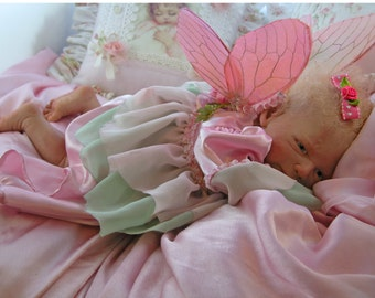 Reborn Babies Custom Wings for  Reborn Baby Boy or Girl Art Doll Fairy, Elf  Newborn Made to order for wings span 11-15  inches