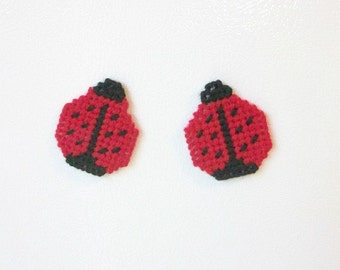Ladybug Magnets. Ladybug Fridgies. Ladybug Kitchen Decor. Ladybug Design Refrigerator Magnets. Good Luck Ladybug Magnets