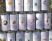 Herbal Tea Gift Set, Set of Two Tins - Your Choice, Tea in Tin, Gift Tea, Loose Tea, Caffeine Free, Sugar Free, Herbal Tea, Tea Gift