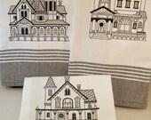 Towel Set Victorian House