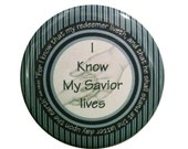 "2015 Primary theme magnet ""I Know My Savior Lives"" Magnet"