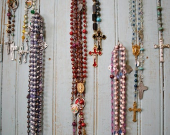 Please see MtSoulSisterRosaries for current stock available - Made to order is available with 4 week timeframe