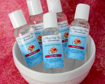Rose Jelly - Perfumed Hand Sanitizer - 2 oz
