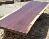 Slab Walnut Bar Top