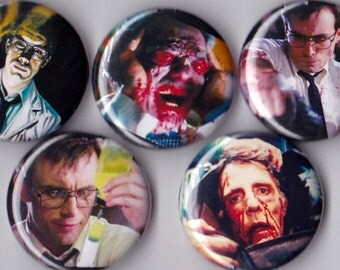 5 Re-Animator Pinback Buttons