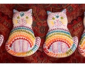 Rainbow Bridge Cat Memorial Ornament