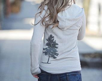 sweatshirt hoodie. yoga hoodie. gray jacket. comfy clothing. cover up. gym hoodie. womens hoodie. lightweight jacket. zip up hoodie