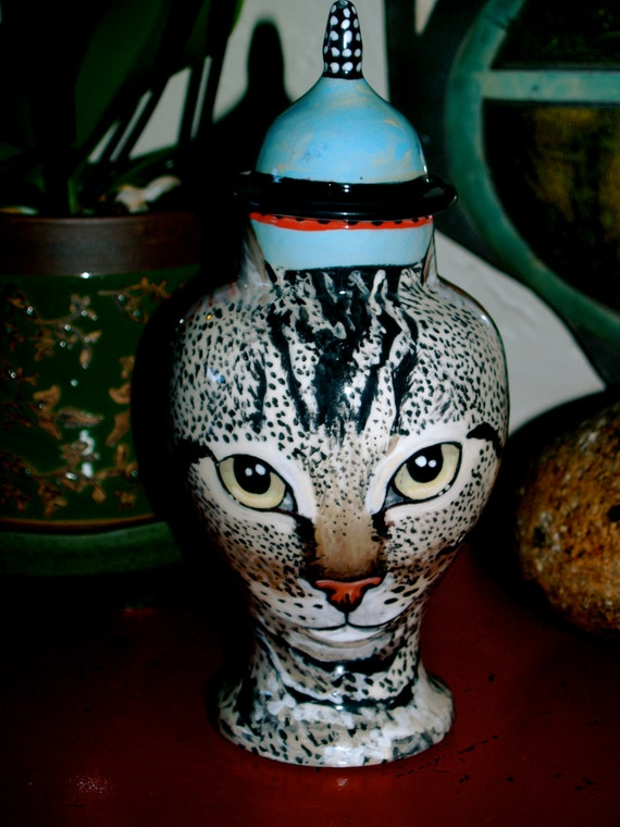 Custom small medium PET URN for dogs and cats SMALL tabby or any smaller breed