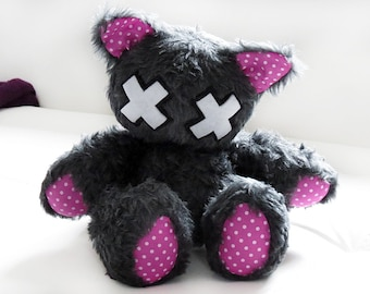 "Emo-Kitty ""Haven"" // Cat Plush Toy"