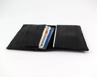 Credit card holder wallet bike tube