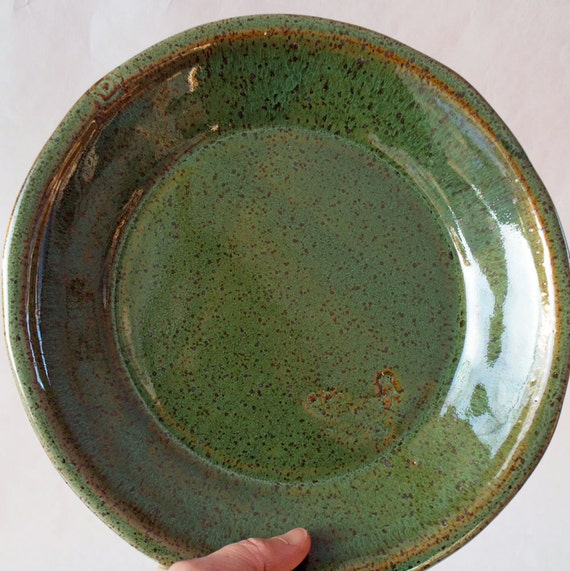 plate handmade ceramic dinner plate dinnerware by jjpottery