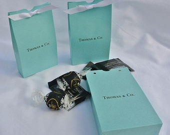 Wedding Favors - Aqua Wedding Favors - Aqua Blue - Favor Boxes - Aqua Favor Boxes - Candy Favor Boxes