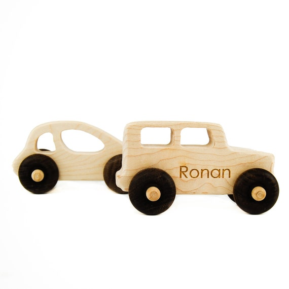 Car and Truck Toys - Handmade Wooden Toys - Wood Car - Wood Truck - Toddler Gifts - Imaginative Play - Automobiles - Pretend Driving -TY30