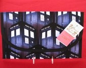 Doctor Who Tardis Diaper and Wipes Case Holder Clutch