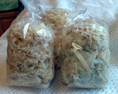 Goat milk soap shavings, bits & pieces 6.5 ounces