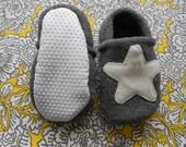 Custom Sea Star Fleece Slippers/Booties with Grip Tight Soles  (Polartec Fleece)
