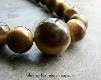 Tribal Bead-Vintage Bead-Vintage Lucite Bead-Lucite Bead-Large Lucite Bead-Graduated Beads-Horn-Horn Beads-Italian Lucite Beads-26 Beads