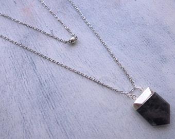 Cosmogony Necklace in Amethyst