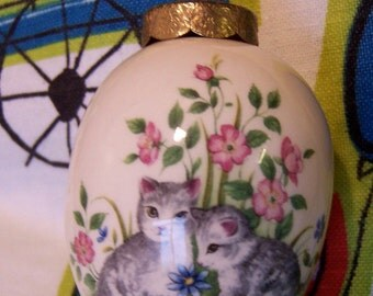 the egg lady porcelain egg