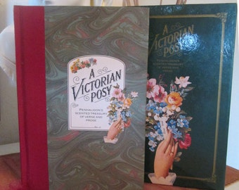 A Victorian Posy - Penhaligon's Scented Treasury of Verse and Prose - Edited by Sheila Pickles - First Edition Romantic Books Garden Books