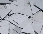 Aluminum Triangles - 18 Gauge, stamping blanks, metal blank, 18 gauge, stamping supplies, geometric stamping blank, Bopper, hand stamping
