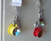 Unique Bookmark Word Charm Add a Birthstone Charm to Custom Bookmark Choose From Teacup Charm, Believe Charm or Count Your Blessings