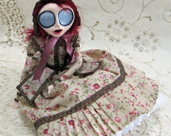 Charlotte - A Young Victorian Girl Art Doll