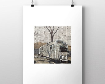 Airstream No. 2 art print