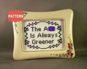 PDF/JPEG The A-s Is Always Greener (Pattern)