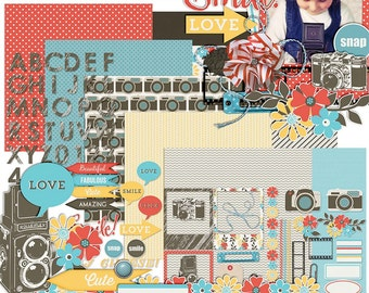 Snap Out of It - Digital Scrapbooking Kit