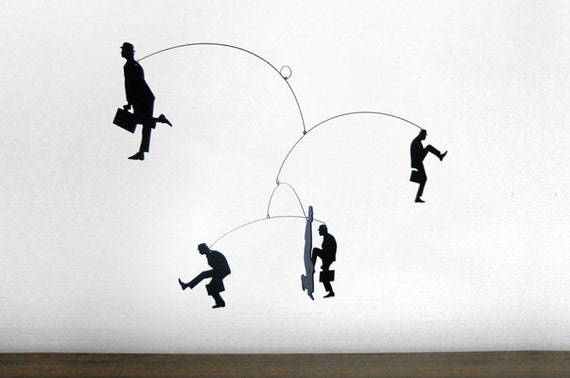 Hanging Mobile | MINISTRY of SILLY WALKS - Monty Python inspired
