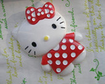 sale JUMBO size Cat 1pc 87mm x 63mm ( RED )