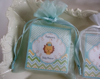 Baby Shower Favors, Baby Boy, Lion Prince, Shower Favors, Soap Favors,
