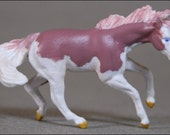 Spin Cycle - Custom Fantasy Mini Whinnie Model Horse (Breyer Reining Stock Mare)