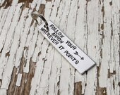 Stamped Keychain - Follow Your Arrow Wherever it Points