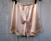 Vintage Lace Pantaloons Bloomers Knickers Tap Pants Shorts Rockabilly Retro Lingerie 1960s
