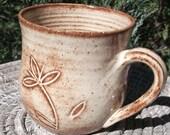 Large Pottery Mug - Set of two available - Handmade Pottery