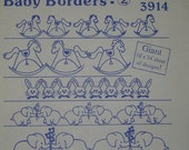 Aunt Martha's Iron On Transfers Transfer Baby Borders Border 3914