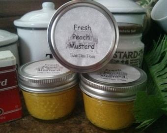 Fresh Peach Mustard