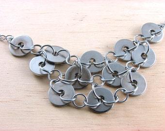 Hardware Statement Necklace Hardware Jewelry Industrial Washers