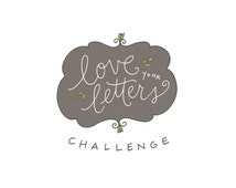 Love Your Letters Challenge: handwriting workshop, self-paced, PDF