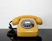 Rotary Telephone / Siemens / Germany / Vintage / Mid Century