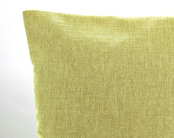 cushion cover sage green accent pillow cover  16 inch