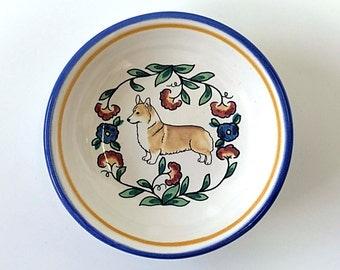 Corgi Small Dish - Handmade