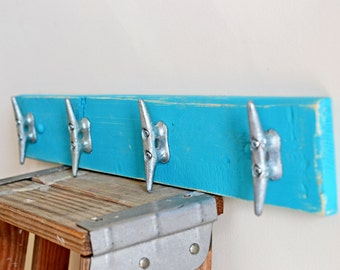 Nursery Decor - Boat Cleat - Ocean Decoration - Kids Wall Rack for Nursery and Children's Room - Nursery coat hook - Nursery decor - beach