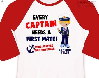 Big brother captain or big brother to be every captain needs a first mate pregnancy announcement raglan shirt