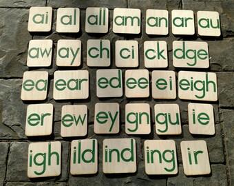 58 Sandpaper Letter Blends Set