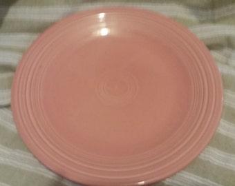 h.l.fiesta newer rose dinner plate