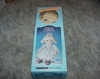 """1985--Paragon--Precious Moments--Susie--18""""--Doll Kit--Unused--Limited First Edition--Complete"""