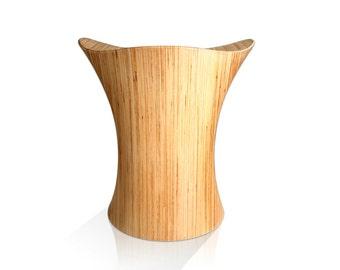 Wooden Stool, Stingray Stool Birch Wood Chair
